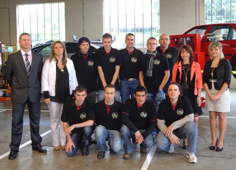 Equipe de la Carrosserie Rabatel 38