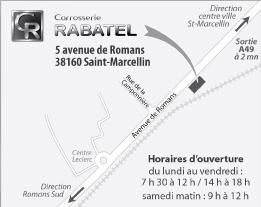 Accès Carrosserie Rabatel Saint Marcellin